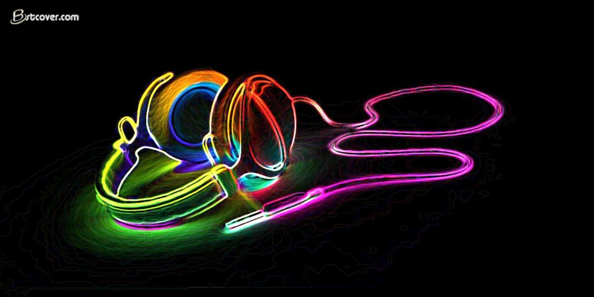 Headset Rainbow Wallpapers Twitter Cover Photos