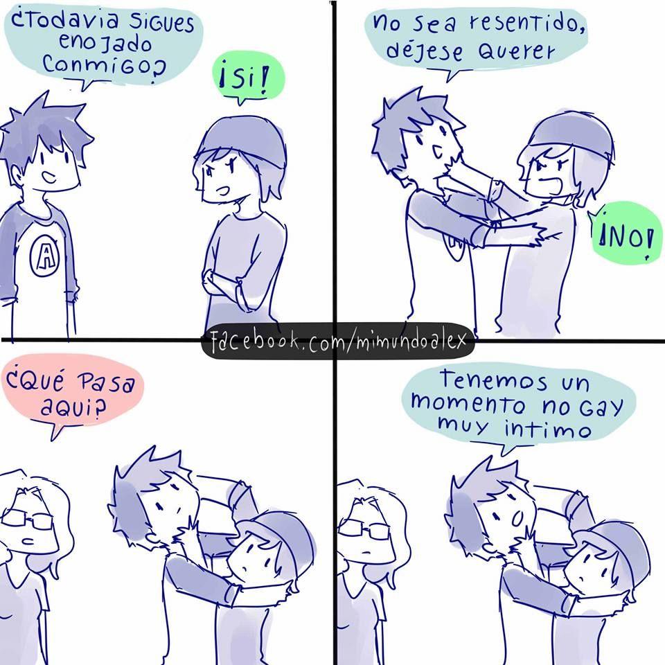 dibujos gays divertidos