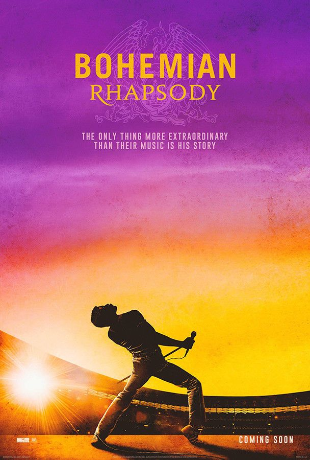 "Bohemian Rhapsody Poster 48x32/"" 36x24/"" 2018 Movie Rami Malek Print Silk"