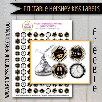 grab your free printable new years eve hershey kiss wine bottle labels affordable kids birthday party ideas personalized invitations
