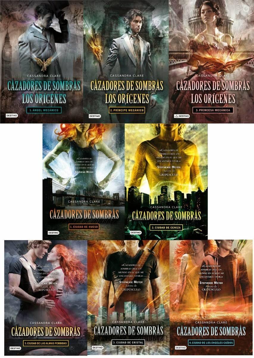 Cazadores De Sombras (5 Libros) + Los Origenes (3 Libros)  $ 10 000 en MercadoLibre is part of Book reader -