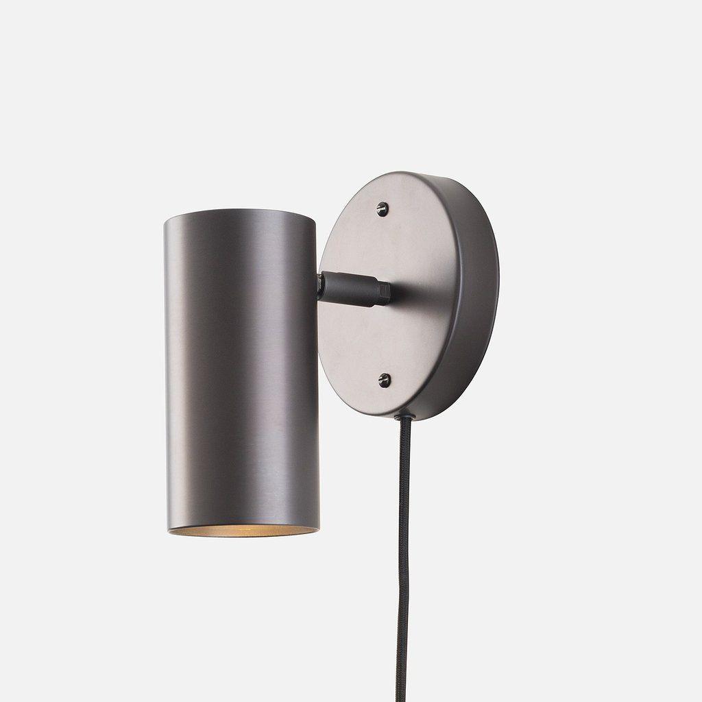 Eduard Plug-In Sconce | Schoolhouse electric, Mid century modern ...