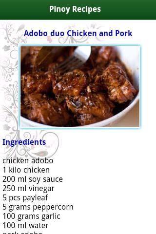 Pinoy food recipes screenshot fashions pinterest pinoy pinoy food recipes apps on google play forumfinder Choice Image