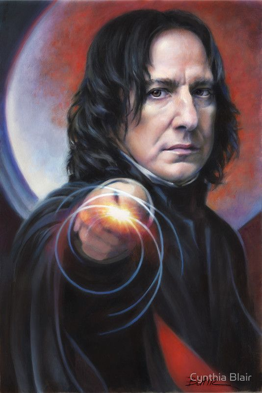 Defense Against The Dark Arts Professor Snape By Cynthia Blair