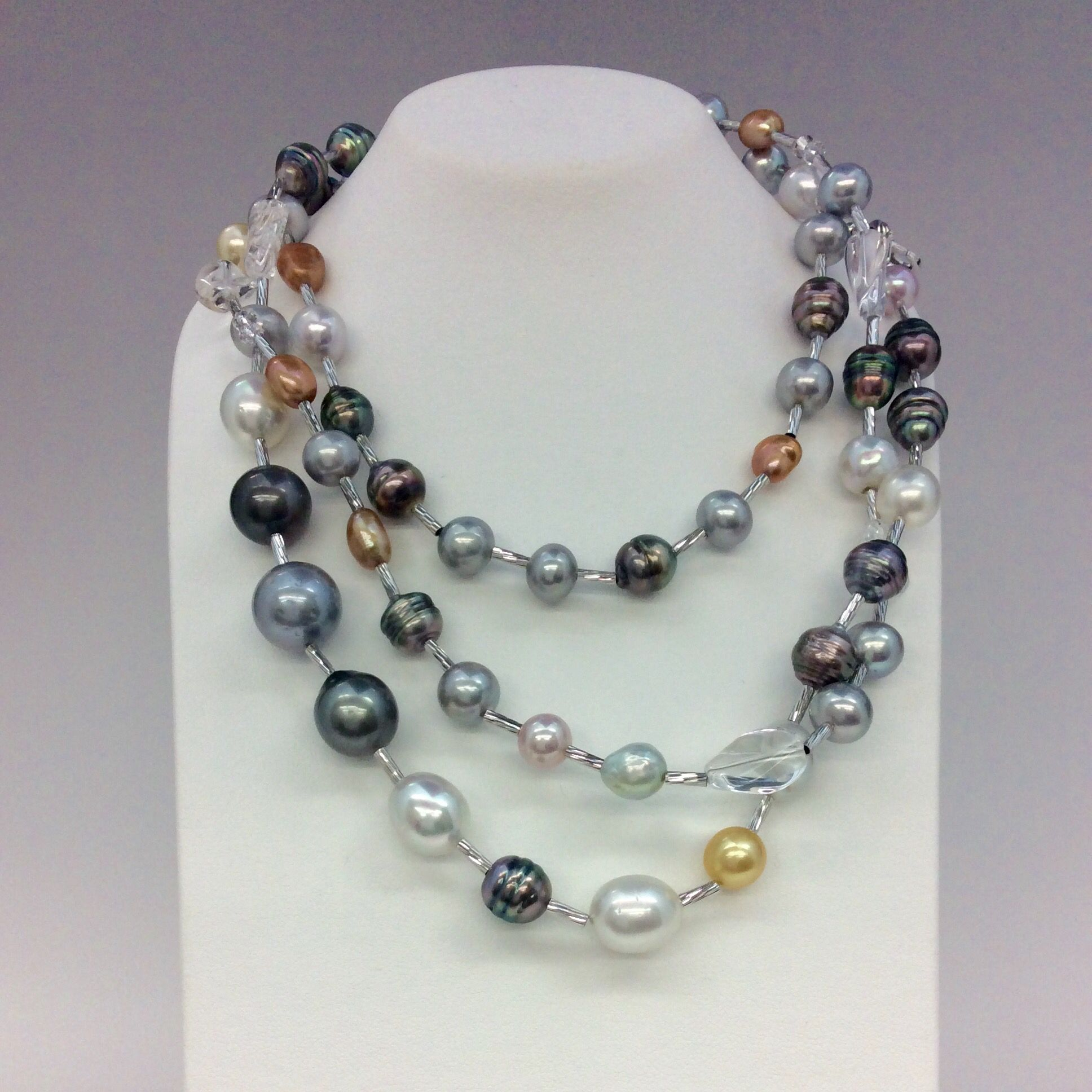 necklace aaa pearl x rearview green sterling grey pistachio true south tahitian silver dark pearls sea water whitegold