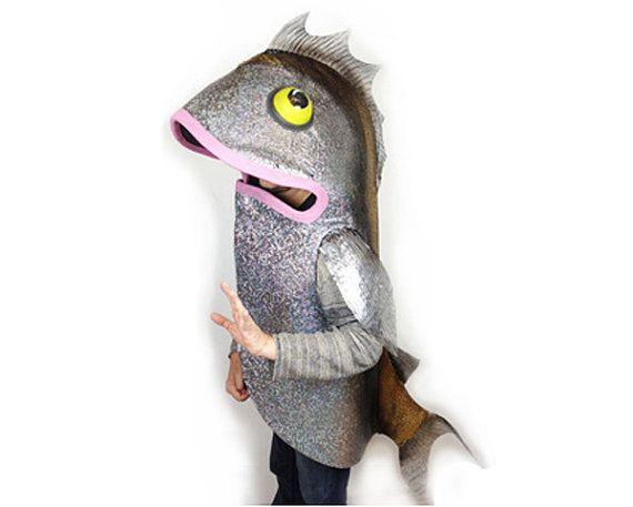 Fish Costume Eco Animal Friendly Custom Made By Tentaclestudio