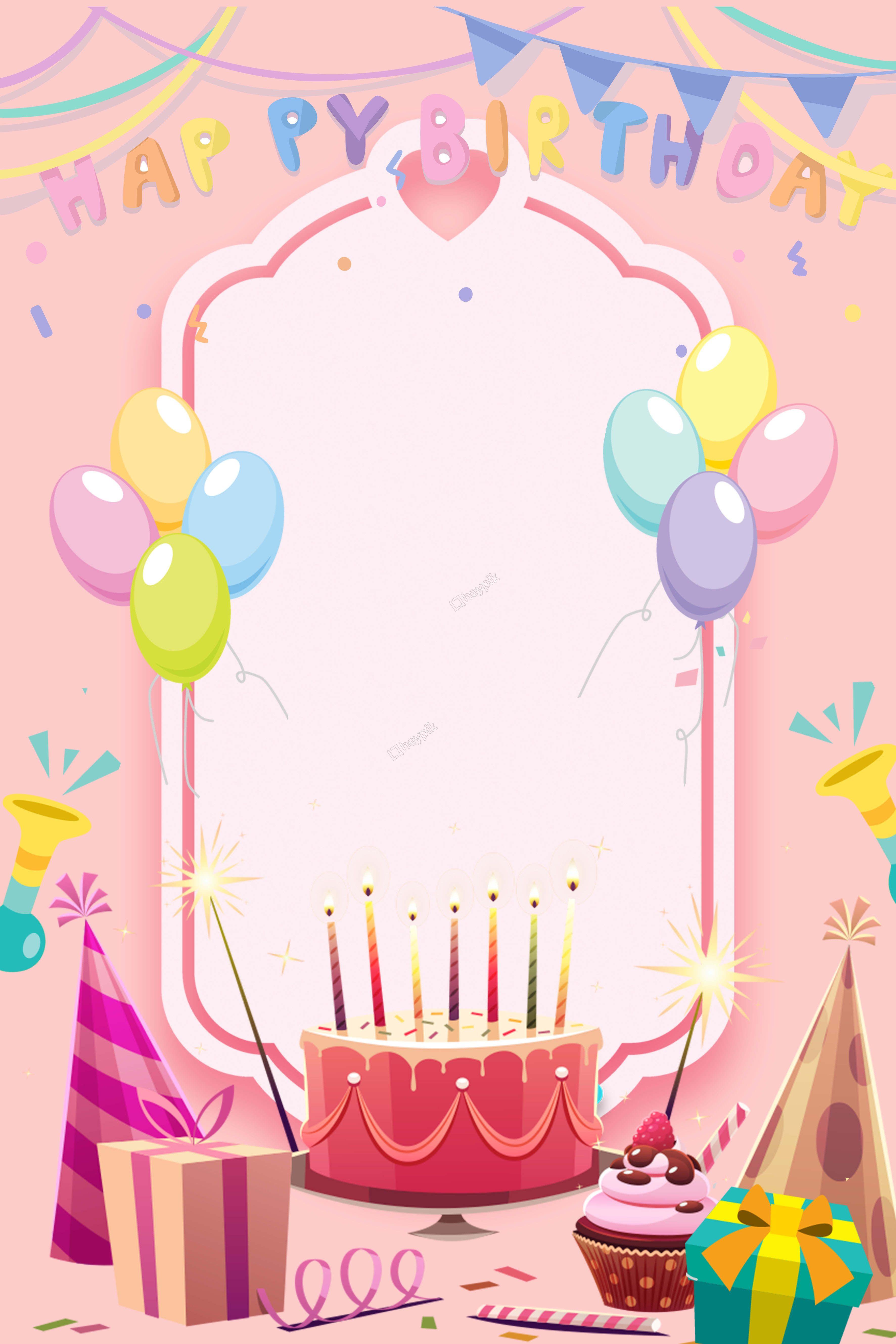 """Fond D Affiche Invitation Joyeux Anniversaire Dessin Anime Ȫ•ç""""Ÿæ—¥ ȃŒæ™¯ Ðースデーカード Ɖ‹æ›¸ã Ðースデーカード"""