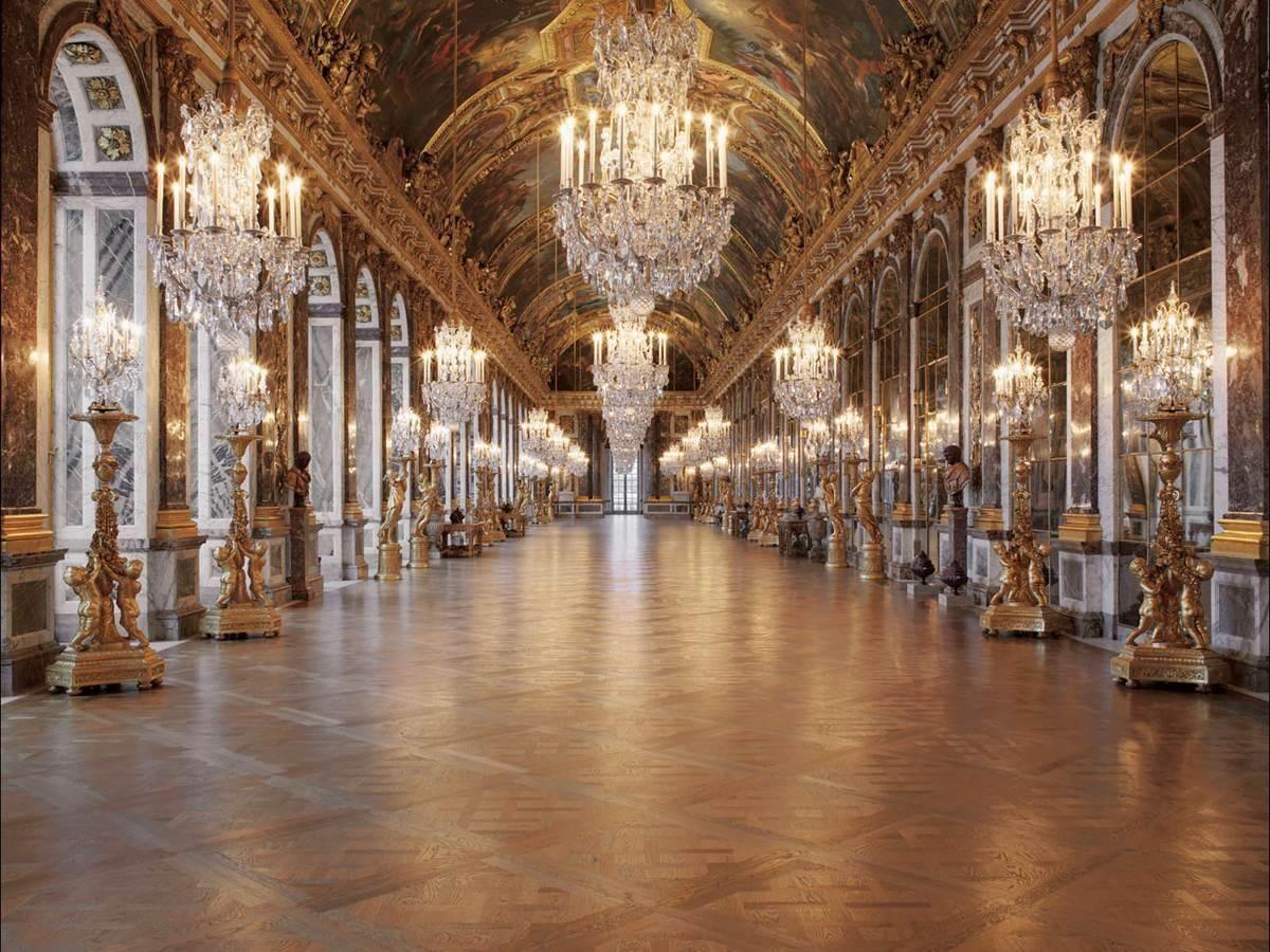Jules hardouin mansart and charles le brun hall of for Miroir louis xiv