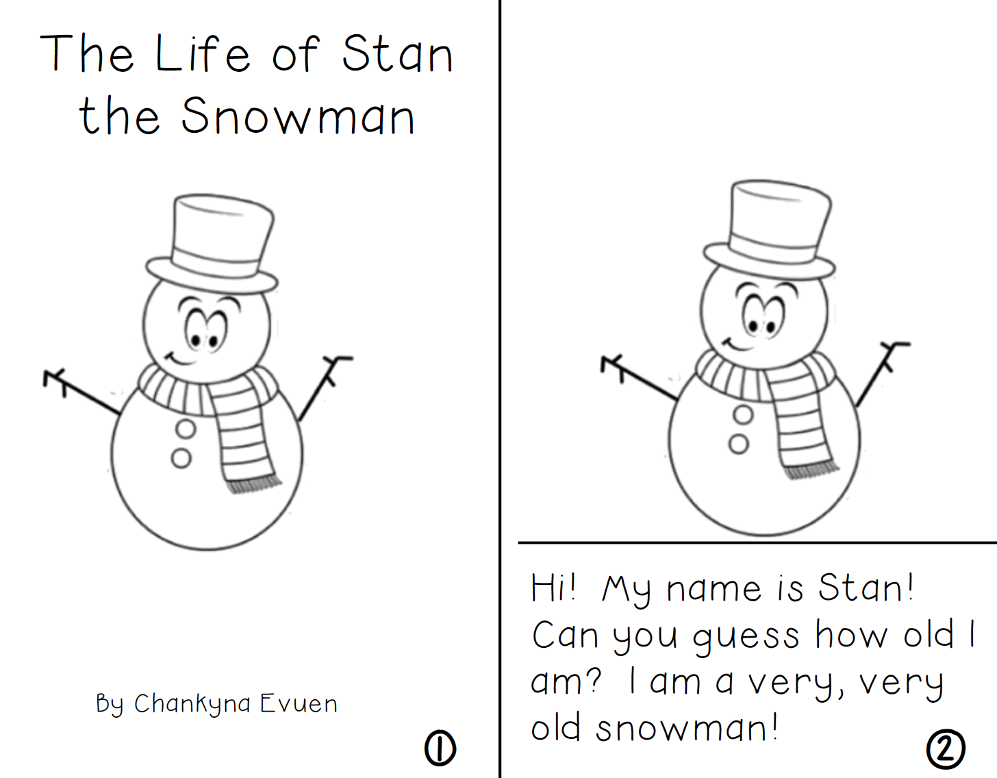 The Life Of Stan The Snowman Reader Water Cycle