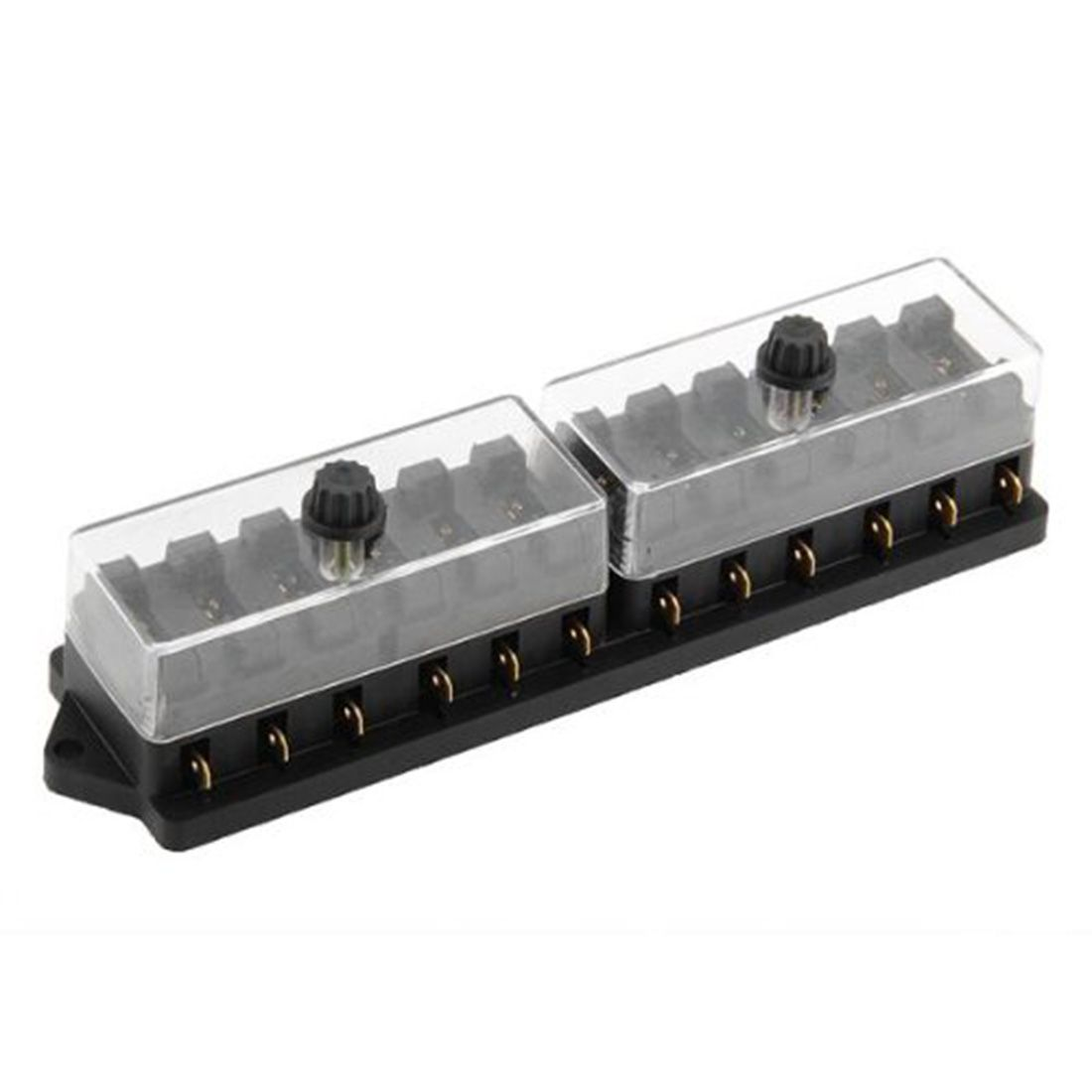 High Quality 12 Way Fuse Box Block Holder Car Vehicle On Circuit Automotive Blade New