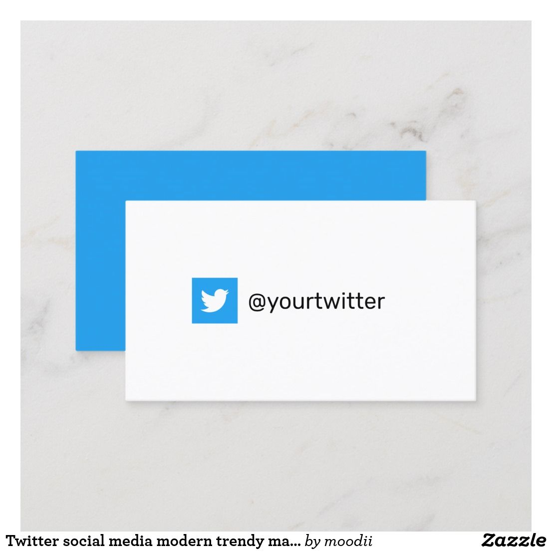 Pin On Social Media Business Cards