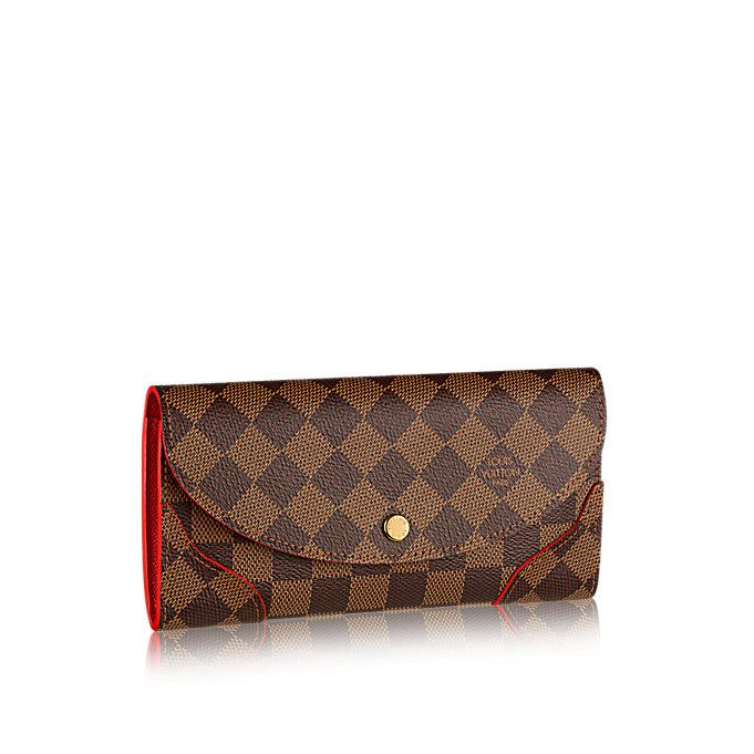 bb783605fcd0 Caïssa Wallet Damier Ebene Canvas in WOMEN s SMALL LEATHER GOODS WALLETS  collections by Louis Vuitton