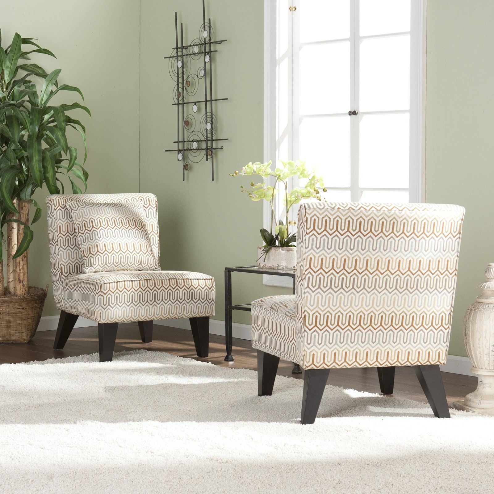 Have to have it pair of celia chairs with pillows clapton jade