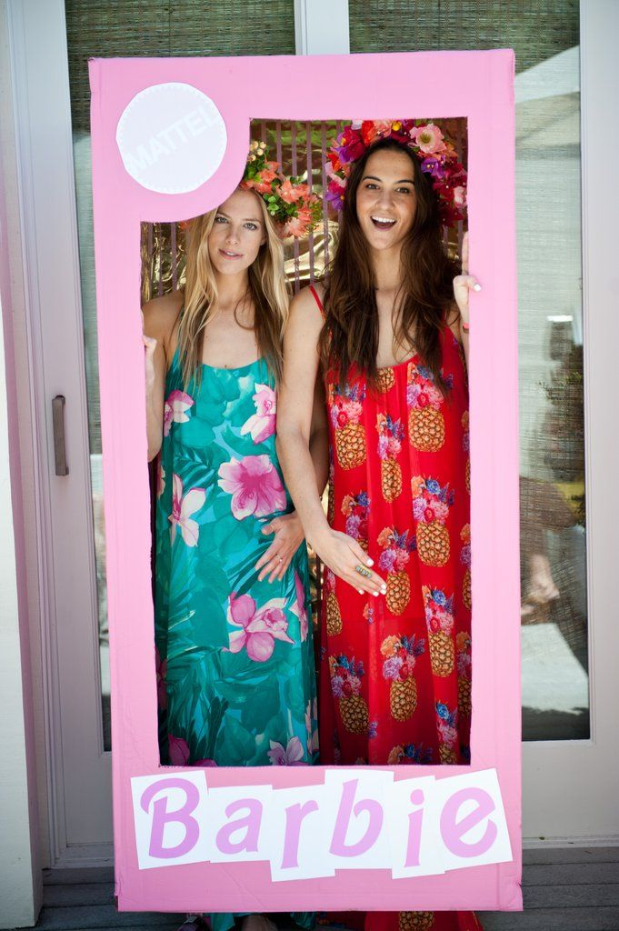 this malibu barbie themed bridal shower is filled with the most fun details