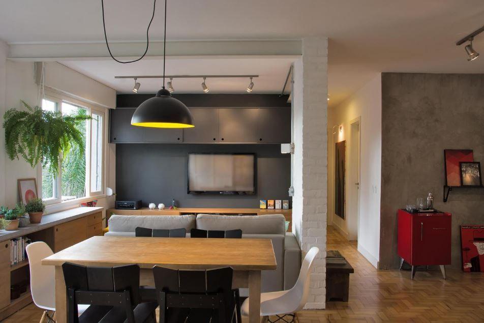 Sala Comedor Pequeño Diseño : Moderno sala comedor de pequeño departamento casita