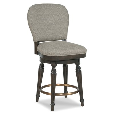 Fairfield Chair Quincy 24 Swivel Bar Stool Upholstery 8789