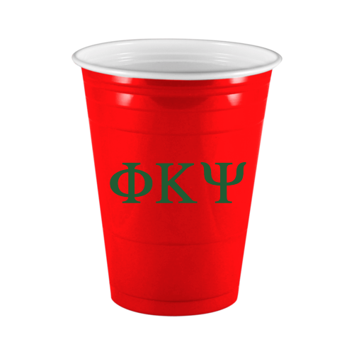 Greek Letters On Custom Red Solo Cup Custom Cups Personalized Cups Insulated Cups