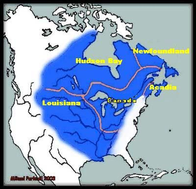 Canada Map French English