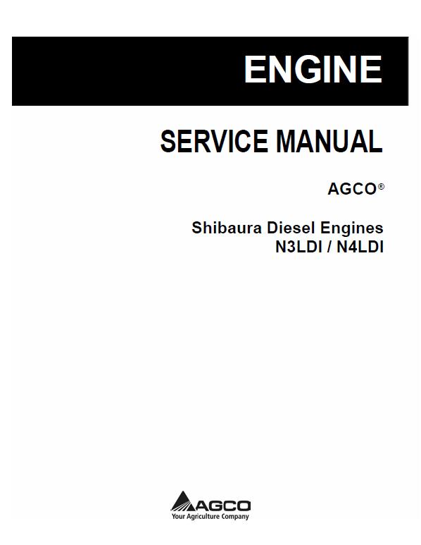 Shibaura Diesel Engines N3ldi And N4ldi Manuals Diesel Engine Diesel Manual