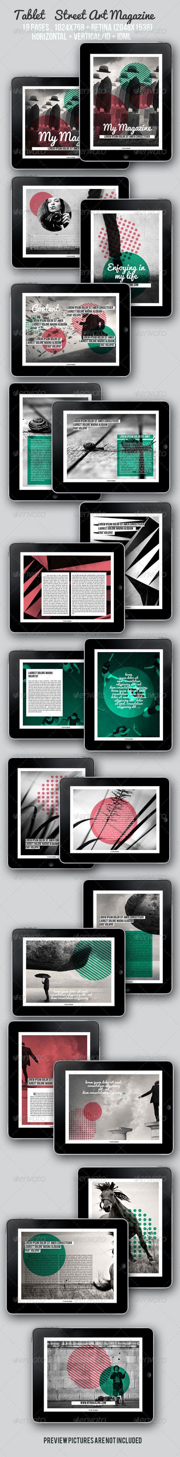 #Tablet Street Art Magazine