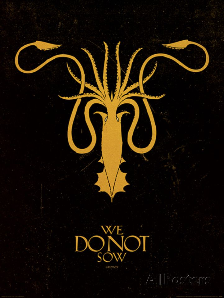 Game of Thrones - Greyjoy Art Print at AllPosters.com