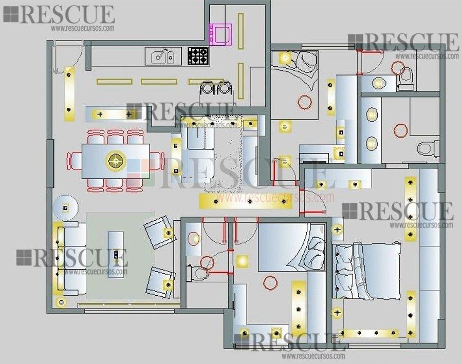Projeto Luminotecnico Projeto De Iluminacao Design De Iluminacao De Interior Iluminacao Residencial