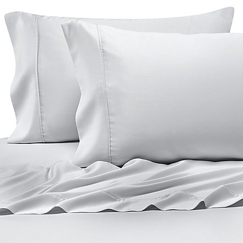 Pure Beech 100 Modal Sateen California King Sheet Set In White