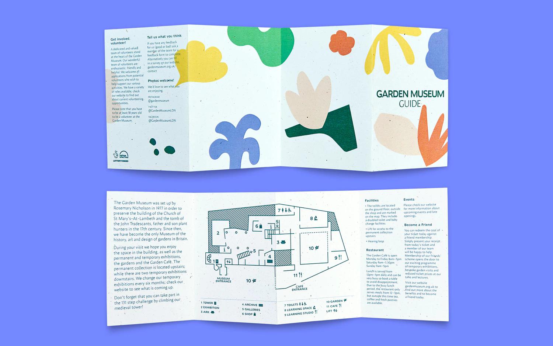 Garden Museum Pentagram Museum Branding Book Design Visual Identity