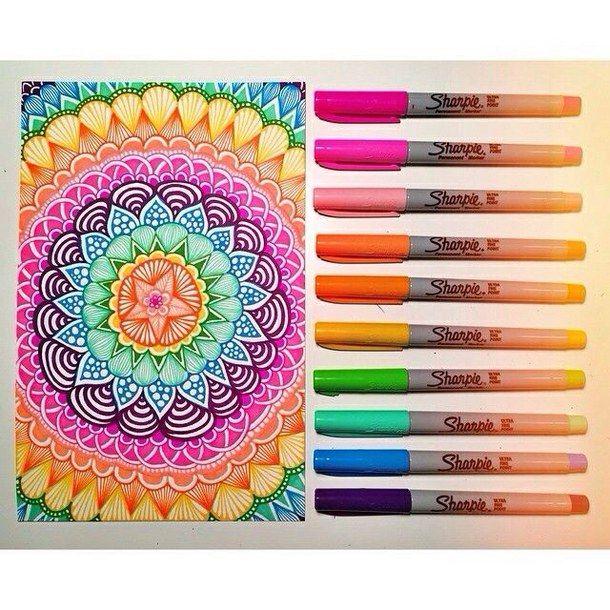 zentangle art color - Buscar con Google