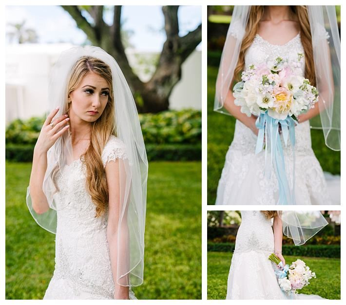 Modest Wedding Dress On A Real Bride At The LDS Laie