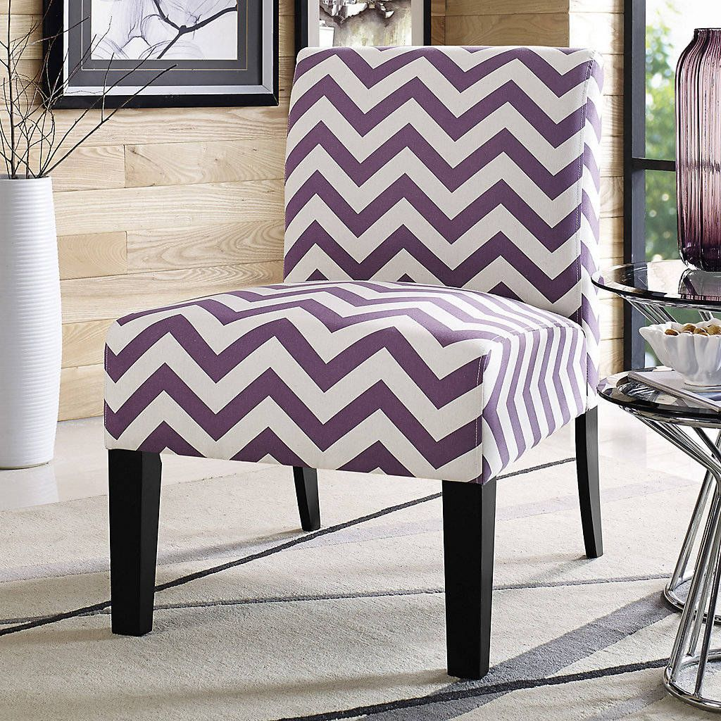 Chevron Accent Chairs By Margie Robinson On Home Ideas