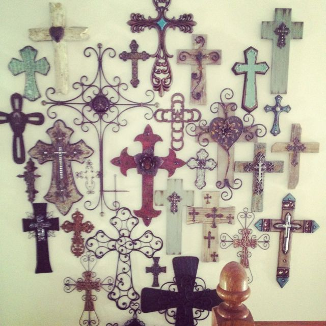 Pin By Daphne Broere On My Projects Cross Wall Decor Wall Crosses Crosses Decor