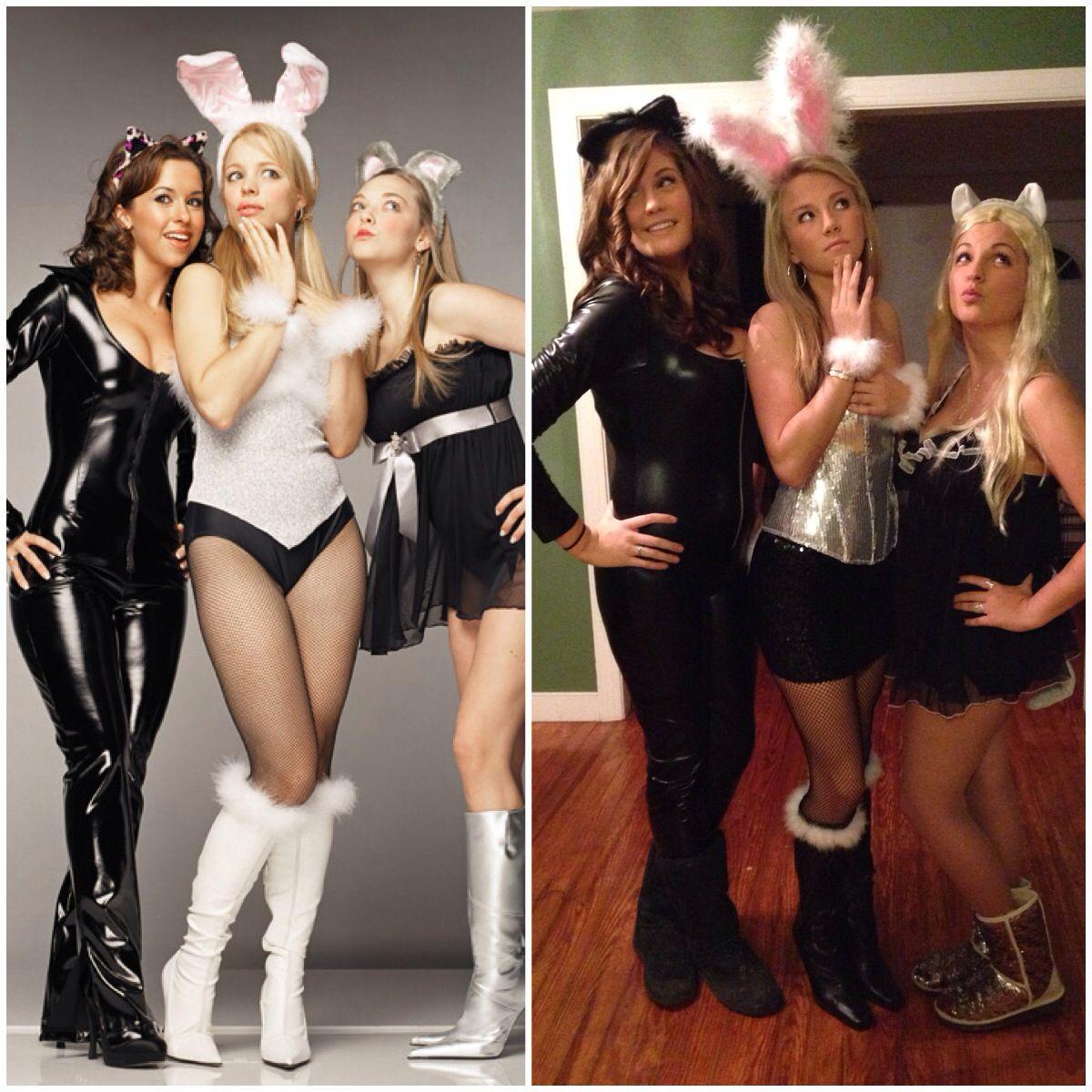 Costume Halloween Regina.Gretchen Regina And Karen The Plastics From The Movie Mean Girls