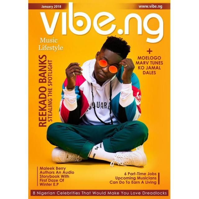 Reekado Banks Dapper On The Covers Of Vibe.ng Magazine