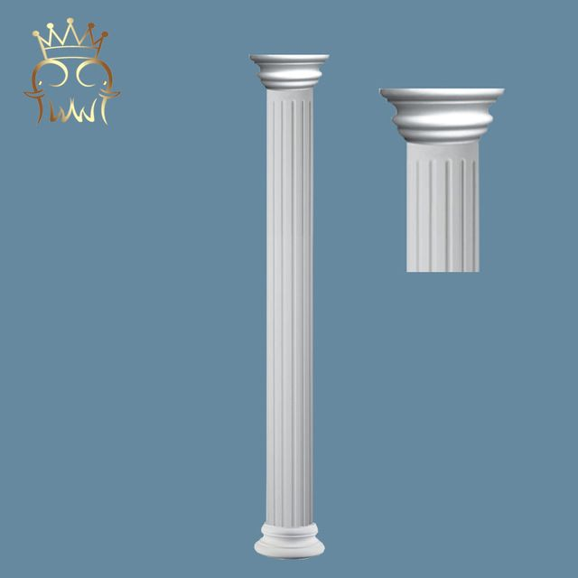 Source Wholesale Plastic Decorative Roman Column House Round Pillar