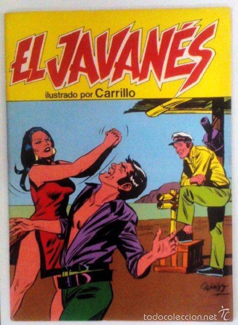 EL JAVANÉS 06 (Tebeos y Comics - Bruguera - Corsario de Hierro)