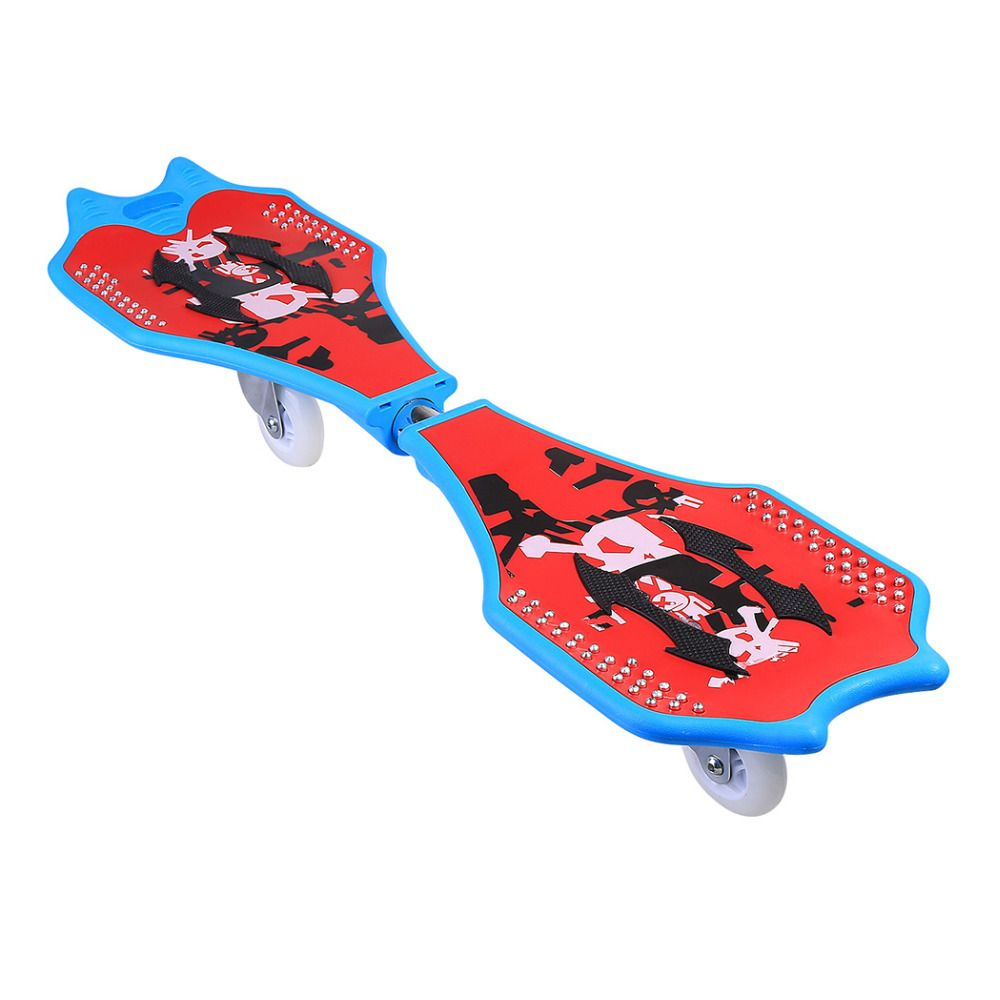 Ancheer New 2 Wheels Skateboard Kids Scooter Child Caster Board