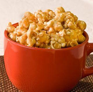 Caramel Popcorn...emphasis on CARAMEL. :)        YUM