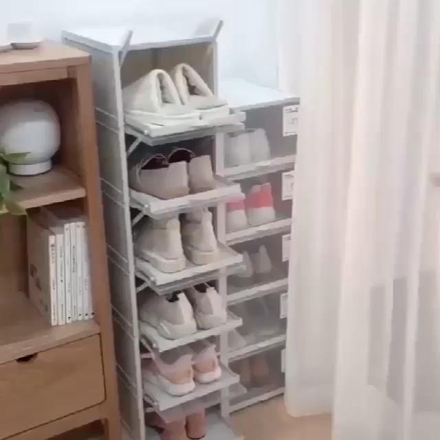 6pc Storage Box & Shoe Box