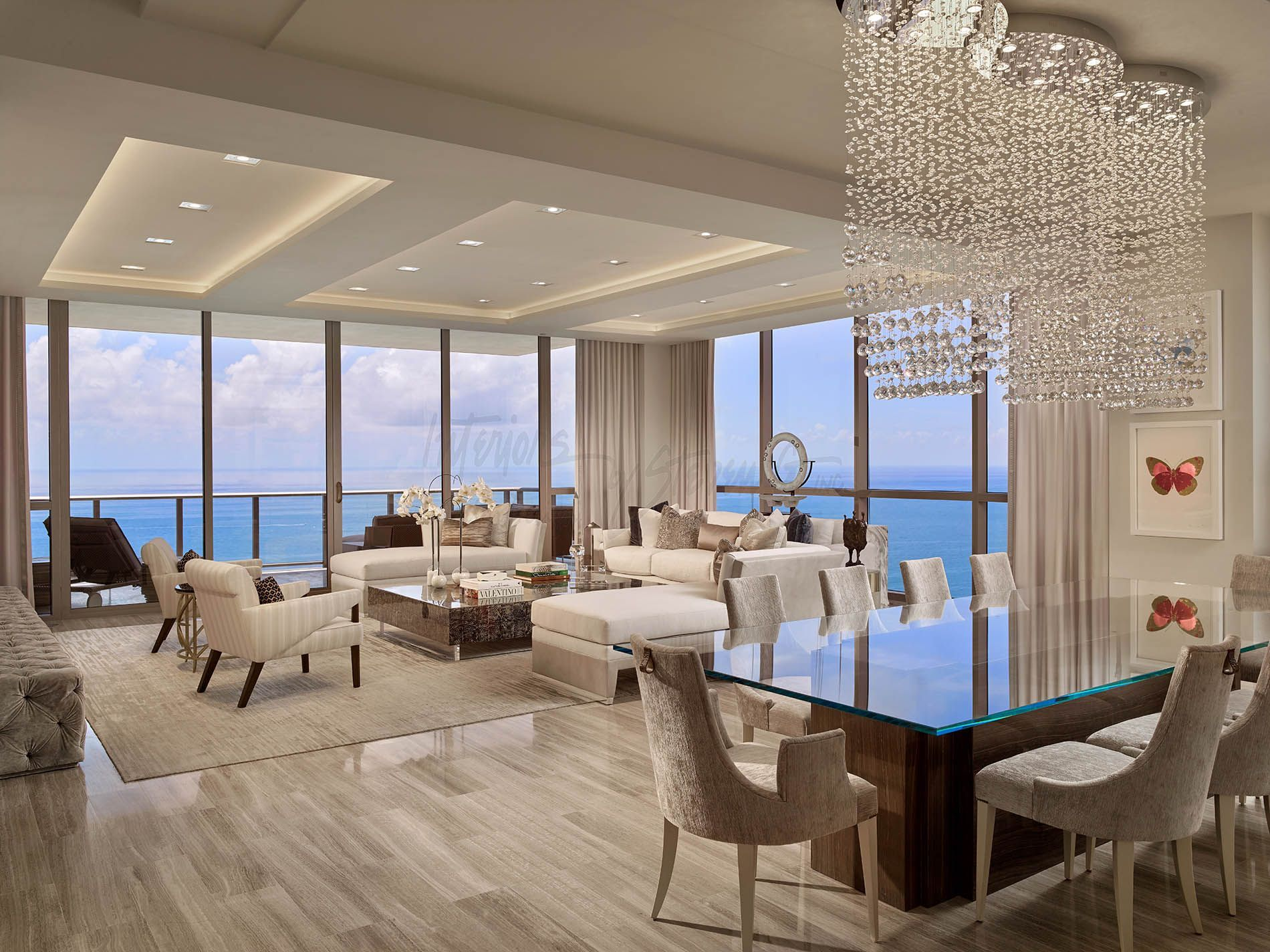 Discover what interiors by steven  can do for your home with the luxury mansions at aqualina contemporary design portfolio also kitchen designs rh pinterest
