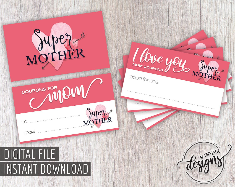 Custom facebook post design etsy diy gifts for mom