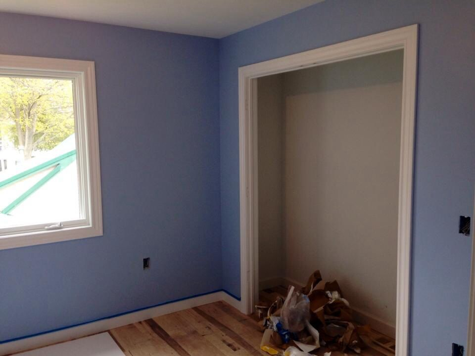mesmerizing sherwin williams blue living room | Sherwin Williams Blissful Blue in 2019 | Paint colors for ...