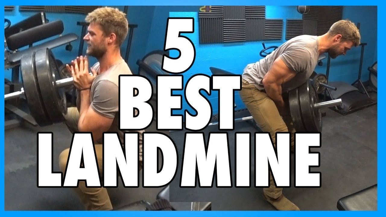5 Best Landmine Press Exercises
