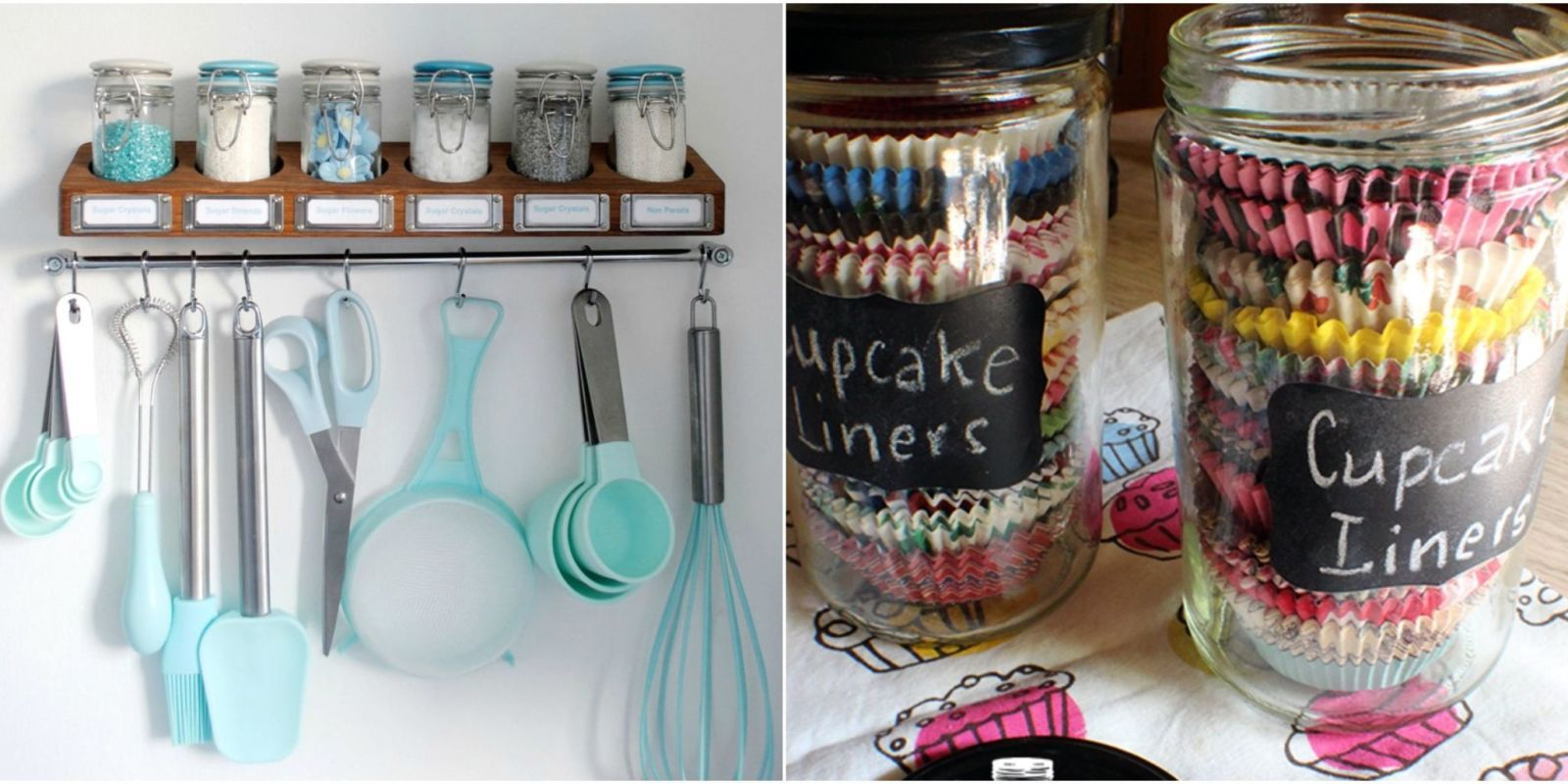 10 Genius Ways To Organize Baking Supplies Woman S Day With
