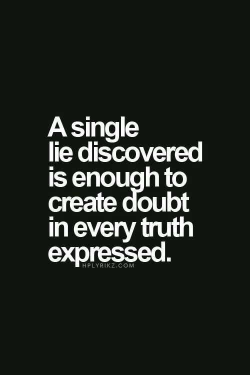 Quotes why lie 40 Honesty