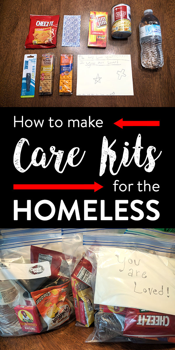 How to make Homeless Care Kits that ACTUALLY help » All Gifts