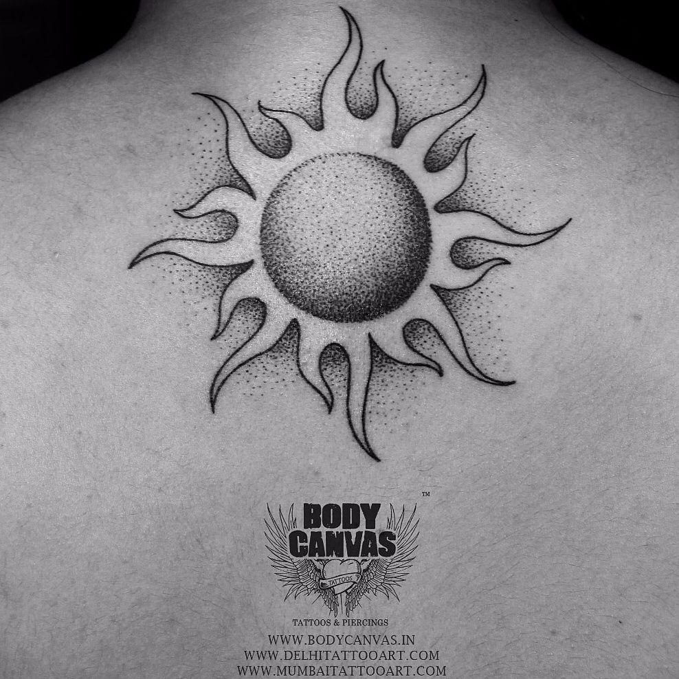 Sunrise tribal tattoo designs tribal sun - Tattoo Sun Tattoo