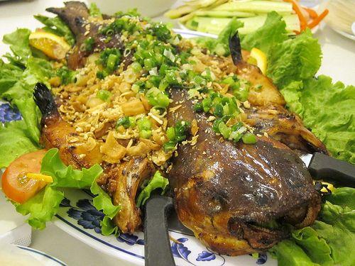 Vietnamese Baked Catfish. Yum!