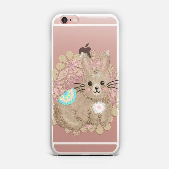 This Trendy Phone Case Features A Cute Hand Drawn Bunny Rabbit
