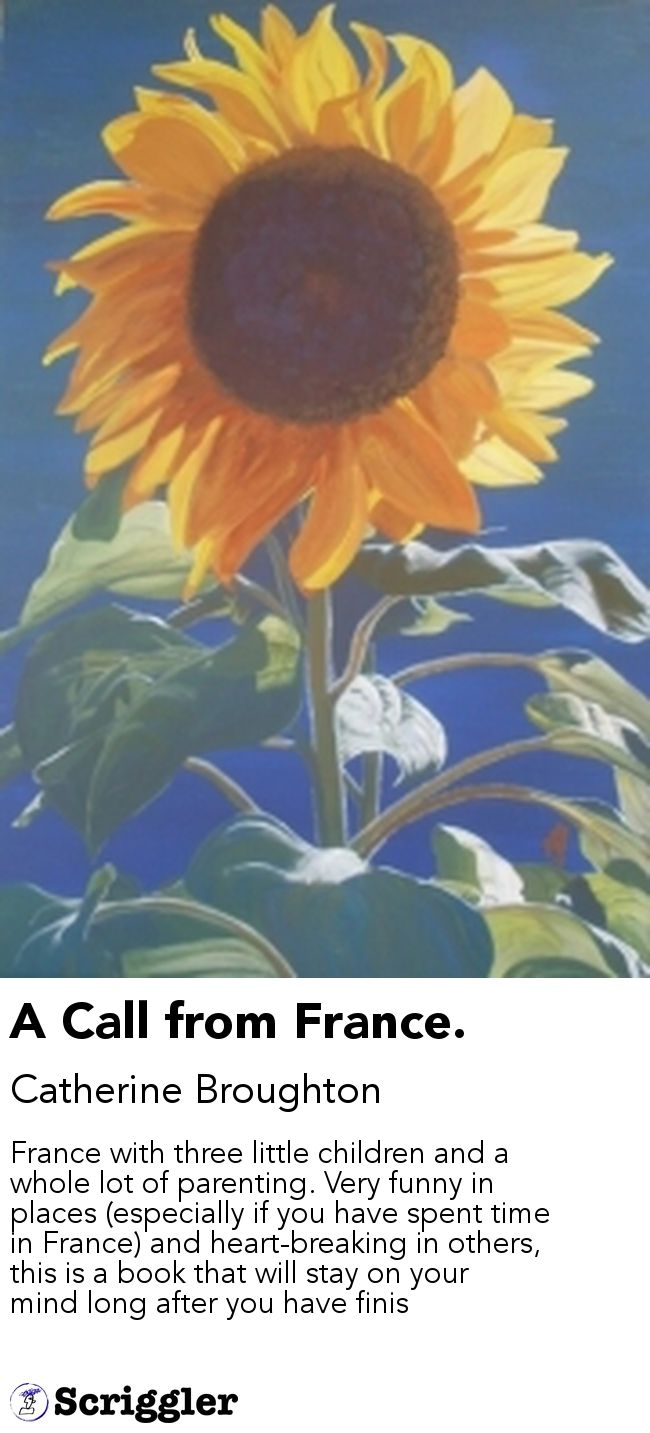 A Call from France. by Catherine Broughton https://scriggler.com/detailPost/story/39636